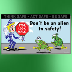 Security Safety Posters
