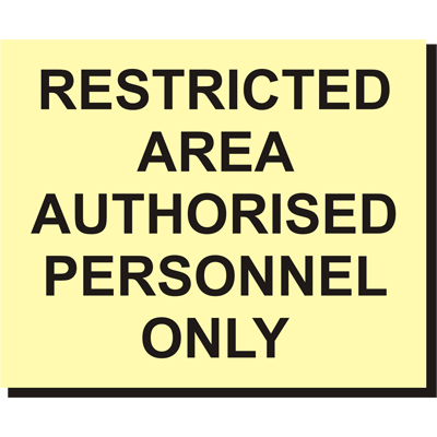 Stricted Area