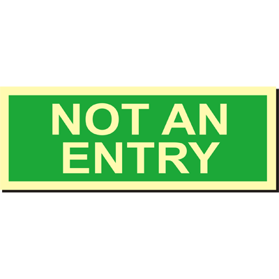 Not an Entry