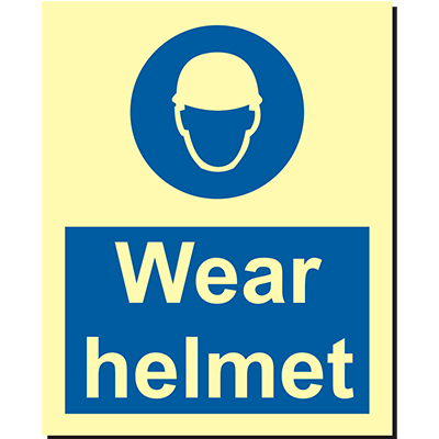 Wear Helmet