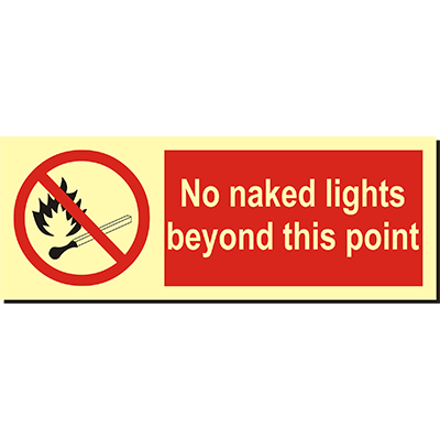 No Naked Lights