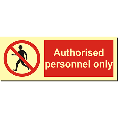Authorized Persons Only