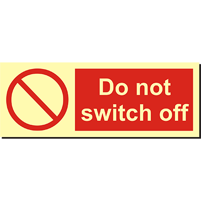 Do not Switch on