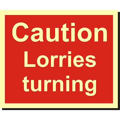 Lorries Turning