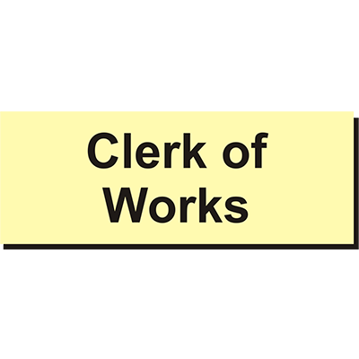 Clerk Of Works
