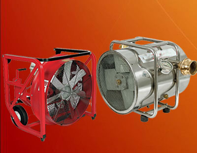 Smoke Extractors and Blowers